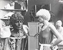 JANET SUZMAN, with Sculptor, Life size, terracota