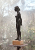 ISRAELI GIRL, Bronze on marble, 58cm (23in)