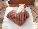 ACTORS HANDS, Life size