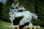 BROODY, Bronze 1.82m x 2.2m, Shown at Royal Academy, Eastnor Castle and Gloucester Cathedral