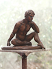 YOGA TEACHER, Bronze, 45cm (18in)